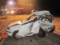 Tragická dopravní nehoda u Hulína