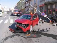 Pět zraněných osob po nedělní nehodě v Holešově