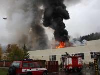 Ve Vsetíně byl dnes vyhlášen II. stupeň požárního poplachu