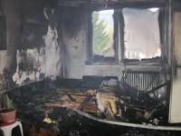 Páteční požár bytu na ulici Družstevní ve Vsetíně