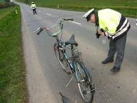 Řidič auta srazil cyklistu, který po střetu zemřel