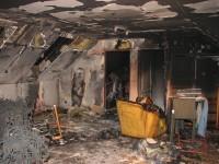 Požár rodinného domu, pes zachránil život