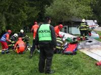 Nehodu letadel likvidovalo téměř 200 záchranářů