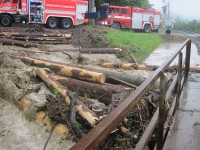 Bouřky komplikovaly život i na Vsetínsku
