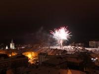 Nový rok přivítají ve Valašském Meziříčí ohňostrojem