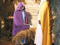 Vsetín - přijďte se podívat v úterý na živý Betlém