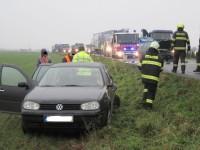 Nehoda tří vozidel blokovala komunikaci, událost se obešla bez zranění