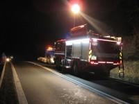Nehoda mezi Jablůnkou a Bystřičkou, zraněny byly čtyři osoby