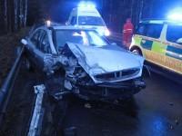 Nehoda u Prostřední Bečvy, zaklínění osob se nepotvrdilo