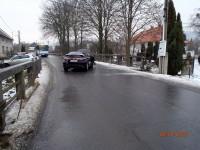 Nehoda zablokovala komunikaci v obci Lukoveček