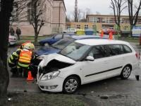 Holešov - řidičky vozidel skončily po nehodě v nemocnici