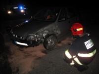 Noční zásah jednotky hasičů města Rožnov pod Radhoštěm